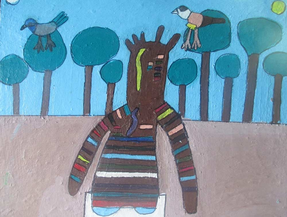 Mammy Bundjalung Zionart Art Studio Mullumbimby Australia