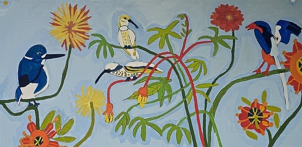 Flowers and Birds Greeting Cards Zion Levy Stewart Artist Mullumbimby
