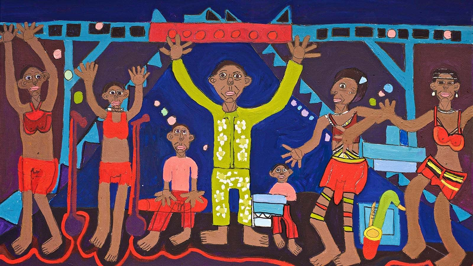 Fela Kuti Show Zion Levy Stewart Copyright 2018
