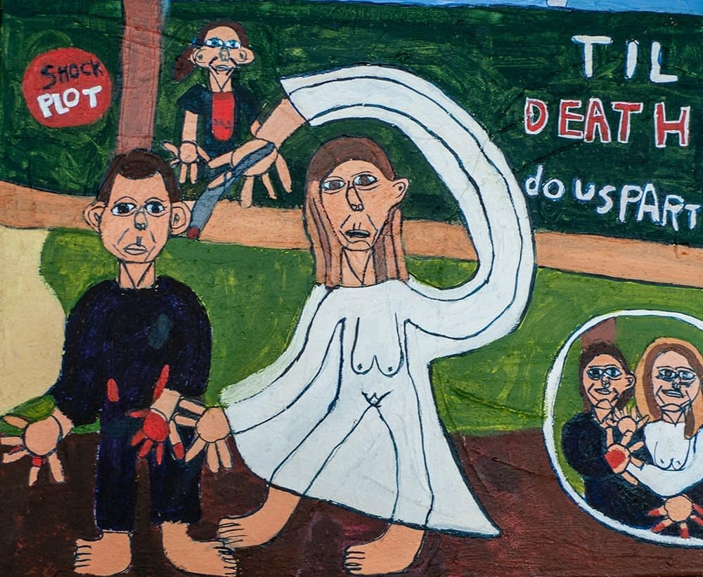 Til Death Acrylic on Canvas Zion Levy Stewart