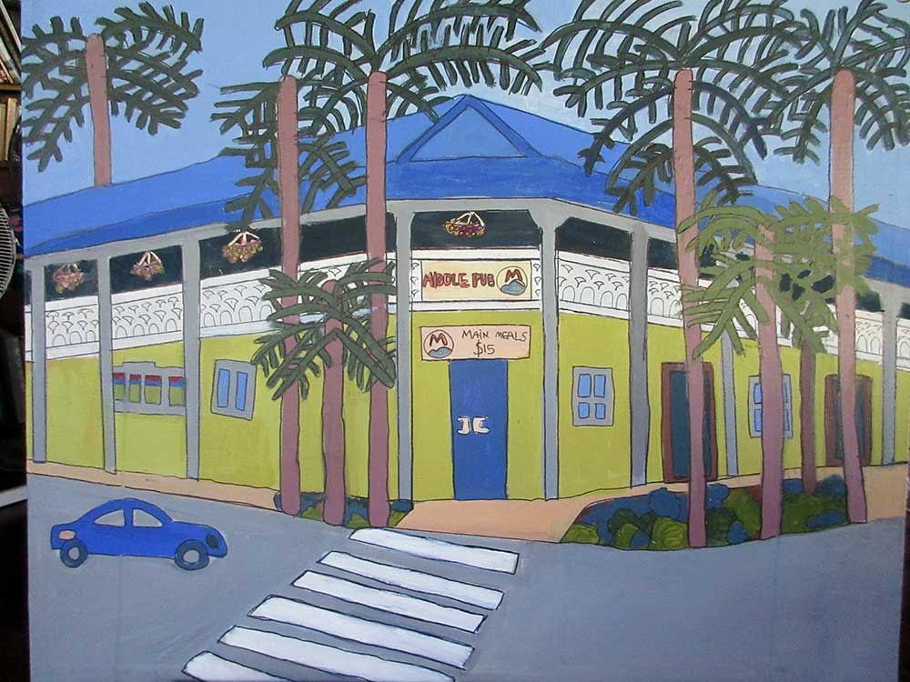Zion Levy Stewart Painting Mullum Pub