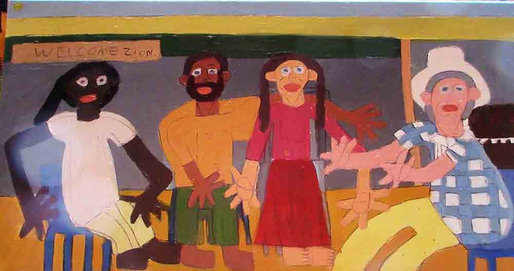Welcome Painting Zion Levy Stewart 2016